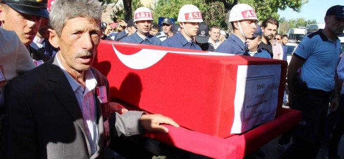 Şehit Uzman Çavuş Temizyürek Kayseri'de defnedildi