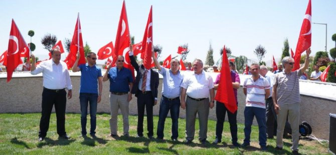 Kayseri Organize'de Bayrak Park Alanı 15 Temmuz Şehitler Parkı oldu