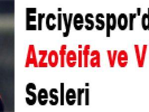 Erciyesspor'da Azofeifa ve Vleminckx Sesleri