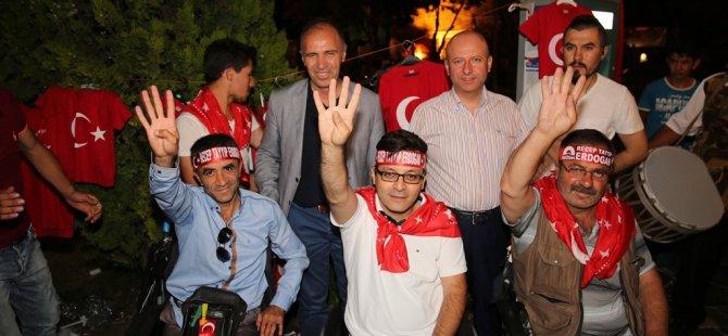 Başkan Çolakbayrakdar Milli birlik ve beraberlik pekişti