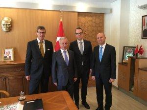 EWE Turkey Holding ve Kayserigaz'dan Vali Süleyman Kamçı'ya ziyaret