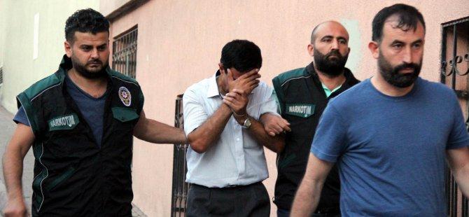 KAYSERİ'DE 127 POLİS GÖZALTINA ALINDI