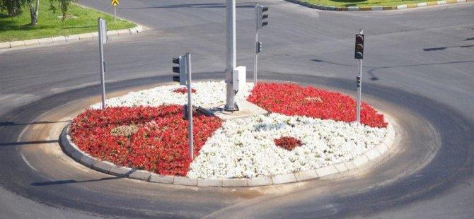Kayseri OSB'de çevre düzenleme çalışmaları kesintisiz devam ediyor