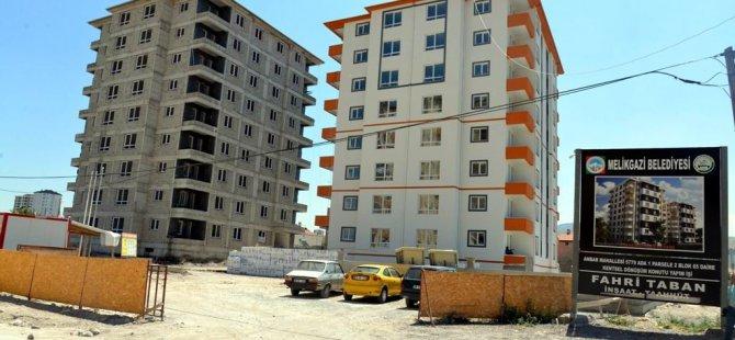 Melikgazi Belediyesi'nde kentsel dönüşüm devam ediyor