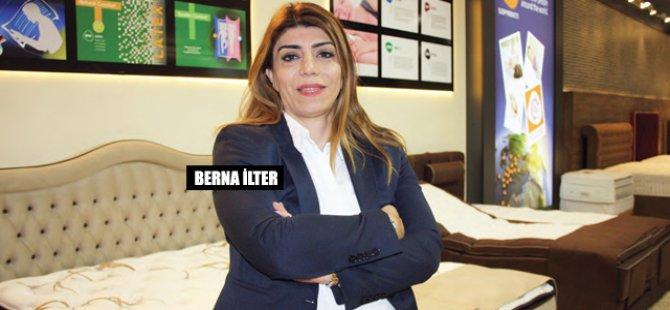 BERNA İlter girişimci ruhu sayesinde: