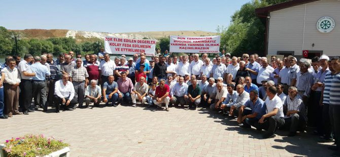 Bünyan Çiftçileri ve STK temsilcileri Kayseri Şeker'de