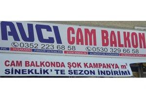 KAYSERİ'DE AKLA İLK GELEN AVCI CAM BALKON