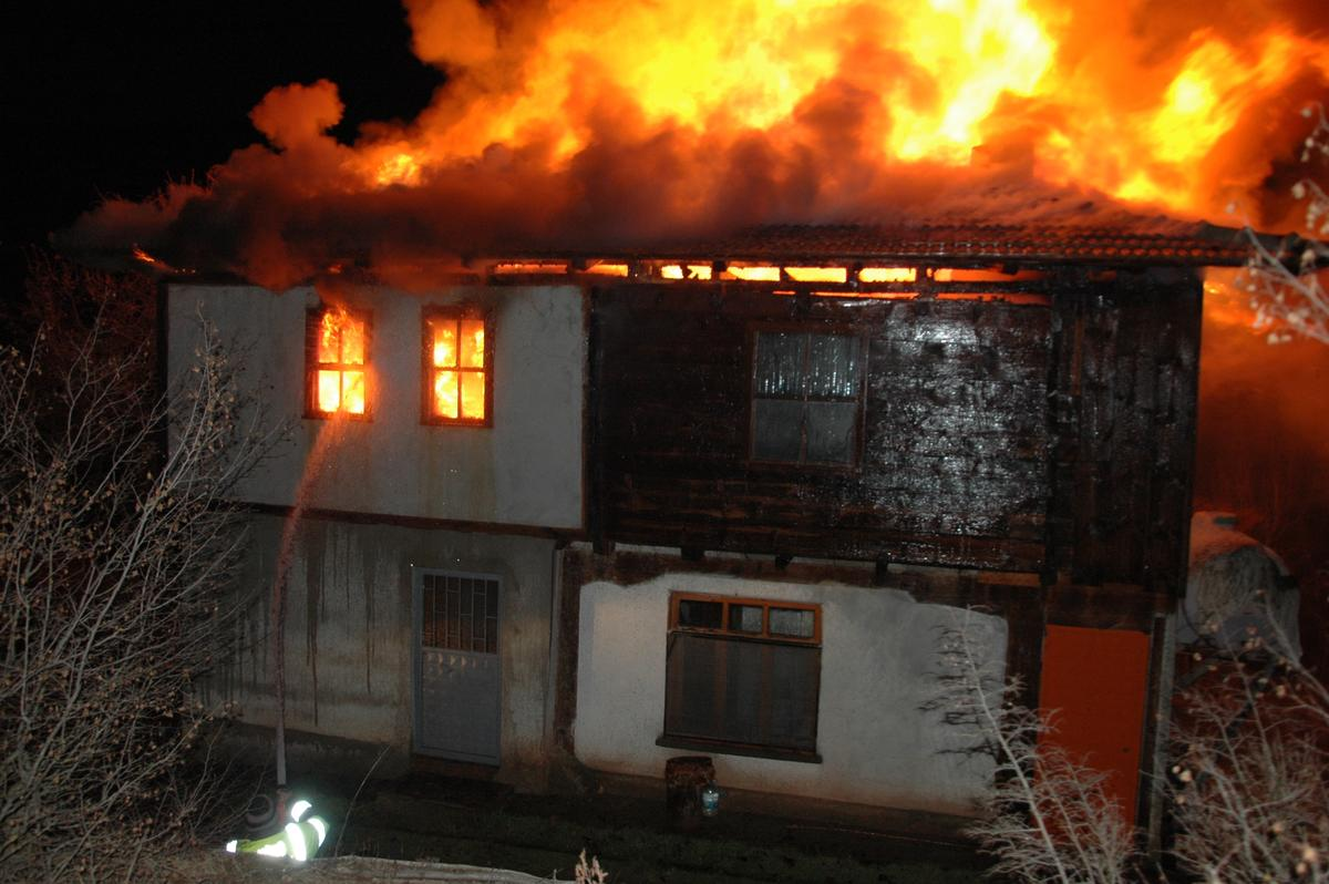 Kayseri'de Ev Yangını - 1.5 Yaşındaki Çocuk Öldü