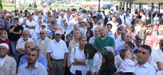 Kayseri'den 204 kişi Hacca uğurlandı