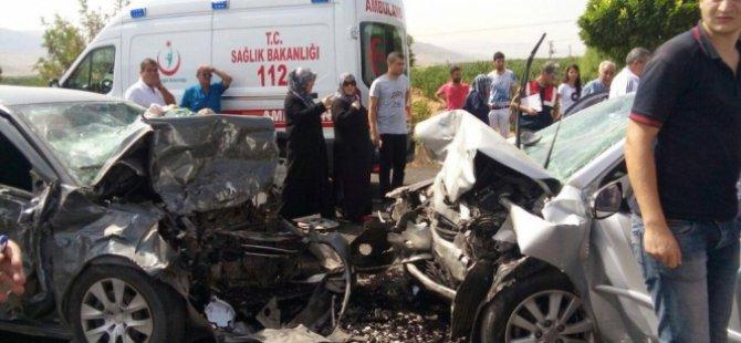 Kayseri karayolunda kaza: 4 ölü, 1 yaralı