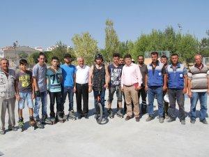 İncesu Belediye Başkanı Karayol, gençlere verdiği sözü yerine getirdi