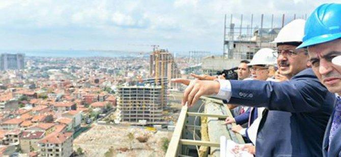 """BAKAN ÖZHASEKİ"""" FİKİRTEPE'Yİ AYAĞA KALDIRACAĞIZ`"""