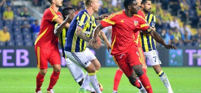 Fenerbahçe ile berabere kaldığımız için üzgünüz