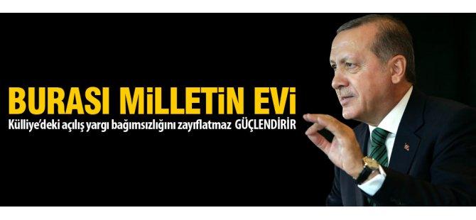 Cumhurbaşkanı Erdoğan'ın adli yıl açılış töreni konuşması