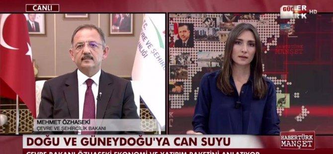 Bakan Özhaseki ekonomi ve yatırım paketini anlattı