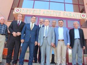 Anayasa Komisyonu Eski Başkanı Burhan Kuzu memleketi Develi'yi ziyaret etti