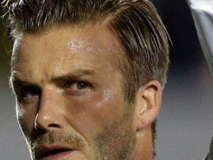 David Beckham şok bir karar