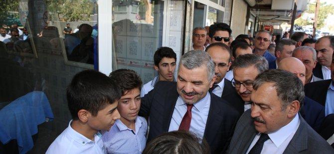 Kayseri'den geniş kapsamlı bir heyet Şırnak'ta