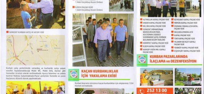 Melikgazi Belediyesi kurban broşürü hazırladı