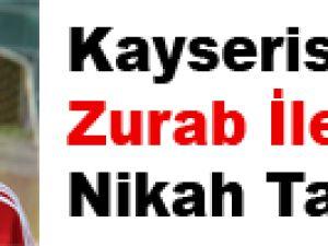 Kayserispor Zurab İle Nikah Tazeledi
