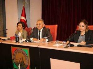 Melikgazi Eylül ayı meclis toplantısı yapıldı