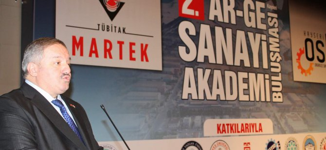 Kayseri Organize Sanayi Bölgesi Yönetim Kurulu Başkanı Nursaçan: