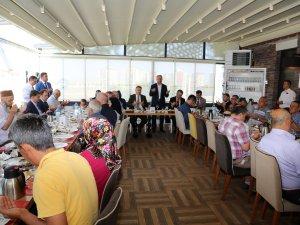 Başkan Palancıoğlu, şehit ve gazi yakınlarıyla buluştu