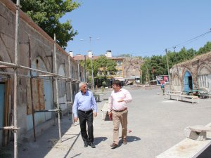 İncesu Belediyesi tarihine sahip çıkmaya devam ediyor