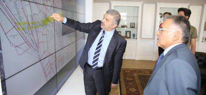 Başkan Çelik, Melikgazi'de