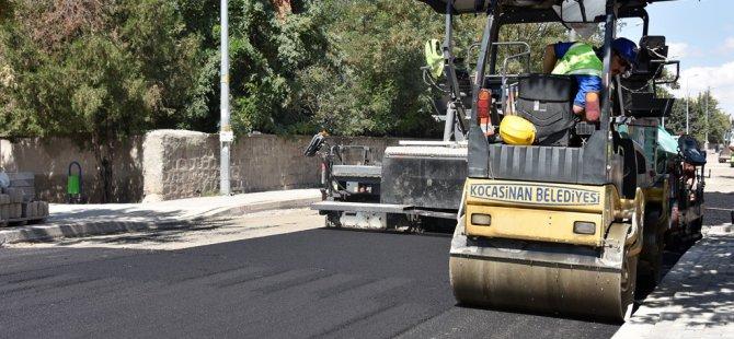 Kocasinan'da asfalt çalışmaları hızla devam ediyor