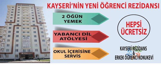KAYSERİ'DE REZİDANS KONSEPTİNDE İLK VE TEK ERKEK ÖĞRENCİ YURDU