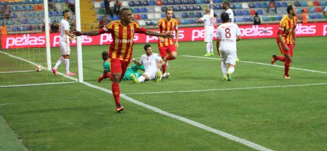 Kayserispor 42 yıldır Galatasaray'ı yenemiyor 1-1 maç sonu