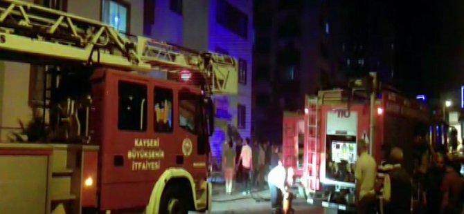 Talas'ta yangın büyümeden söndürüldü