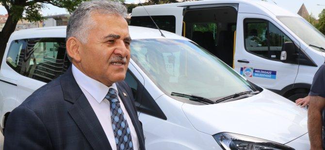 Melikgazi Belediyesi araç parkı genişliyor