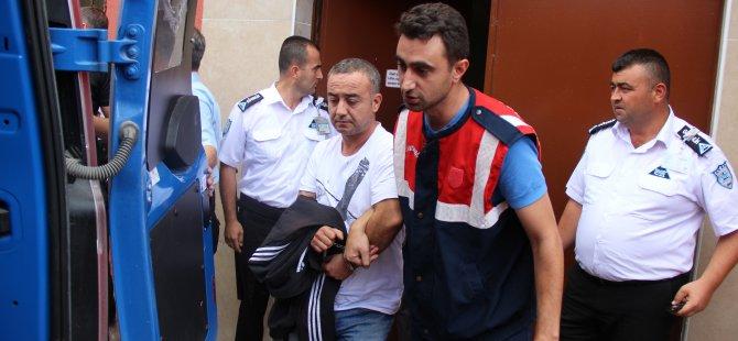 Kayseri'de Cinayet şüphelisi 3 kişi adliyeye sevk edildi