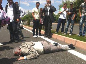 TALAS BULVARI'NDA TRAFİK KAZASI
