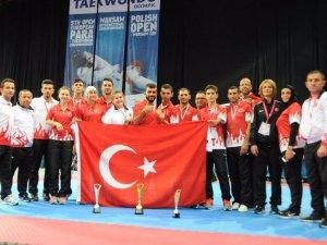 Türkiye para-taekwando'da zirvede