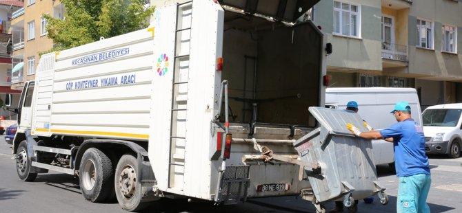 Çevre dostu Kocasinan'da daha hijyenik temizlik