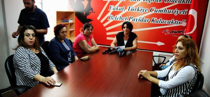 CHP İl Kadın Kolları Başkan Yardımcısı Kibar Akçay:
