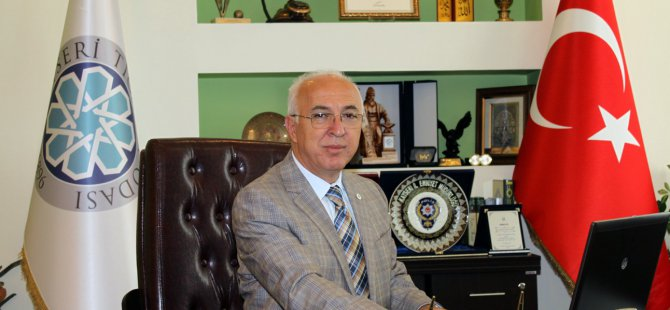 Başkan Hiçyılmaz, Oda üyelerini aidat yapılandırması konusunda uyardı