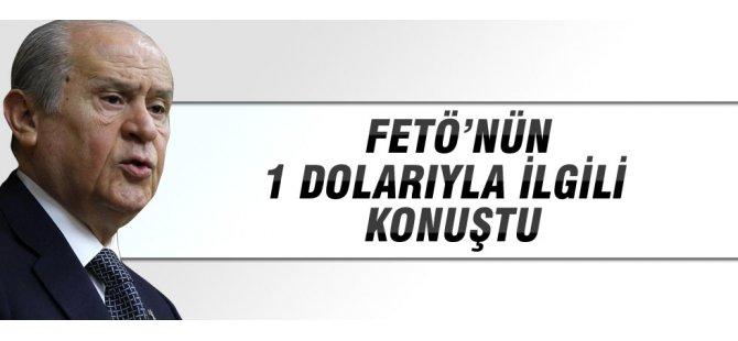 Devlet Bahçeli'den 1 dolar açıklaması