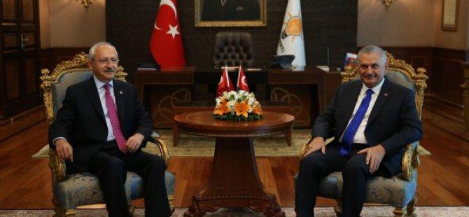 Kılıçdaroğlu, ilk kez AK Parti Genel Merkezi'nde-video