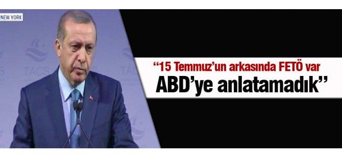 Cumhurbaşkanı Erdoğan New York'ta konuştu