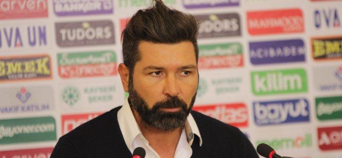 Kayserispor Teknik Direktörü Hakan Kutlu: