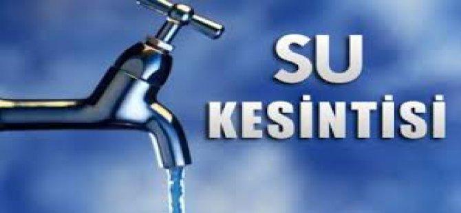 Kayseri'de 23 Mahallede kısmi su kesintisi