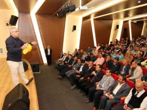 Talas Belediyesi çalışanlarına kişisel korunma eğitimi verildi