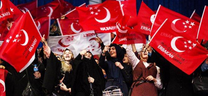 Milli Görüşçüler Erdoğan'ı Başkan görmek istiyorlar