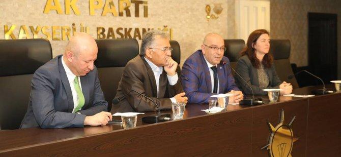 Ak Parti il Başkanı Özden FETÖ terör örgütü ile mücadeleye her yerde devam edeceğiz