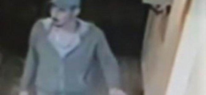 Bebek arabasını çalan bisikletli hırsız kameralara yakalandı