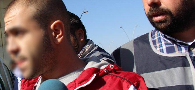 Kayseri'de 17 araca zarar veren palalı saldırgan yakalandı